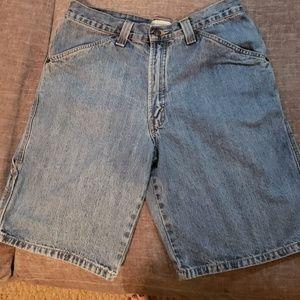 Jean shorts size 33